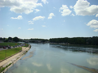 076 uitzicht vanaf de brug
