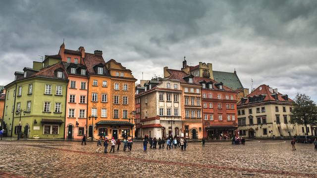 0362 - Poland, Warsaw, Plac Zamkowy W Warszawie HDR