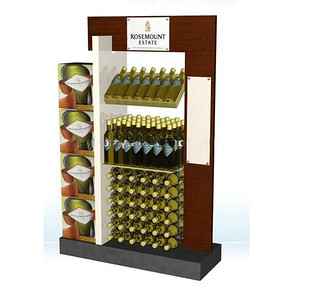 wine bottles rack