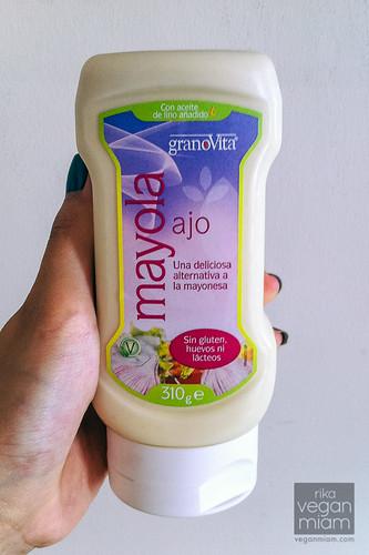 Granovita Vegan Garlic Mayo
