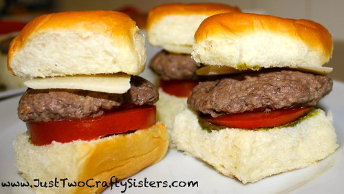 Pesto sliders recipe