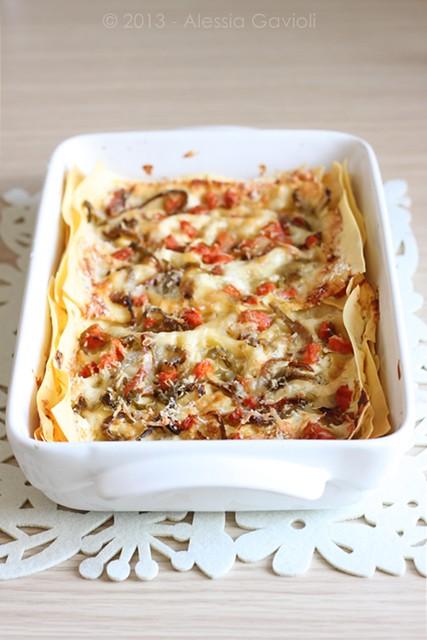 lasagne verdure formaggi