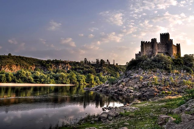 LAST RAYS AT ALMOUROL CASTLE(ALMOUROL/PORTUGAL)