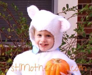 Halloween Lamb
