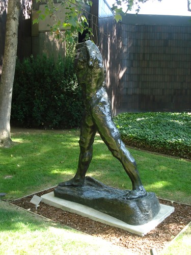 DSCN8814 _ The Walking Man, 1905, Auguste Rodin (1840-1917), Norton Simon Museum, July 2013