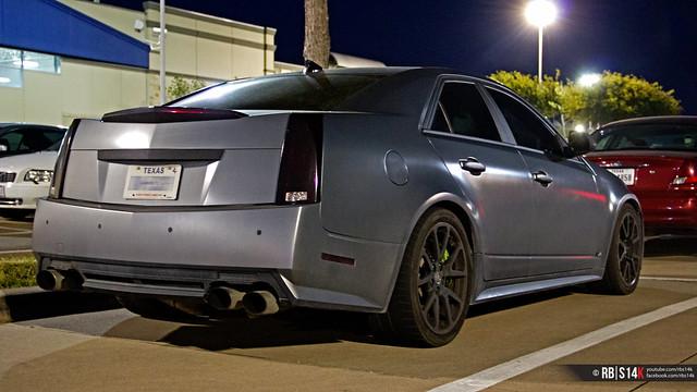 Matte Gray Cadillac Cts V Flickr Photo Sharing