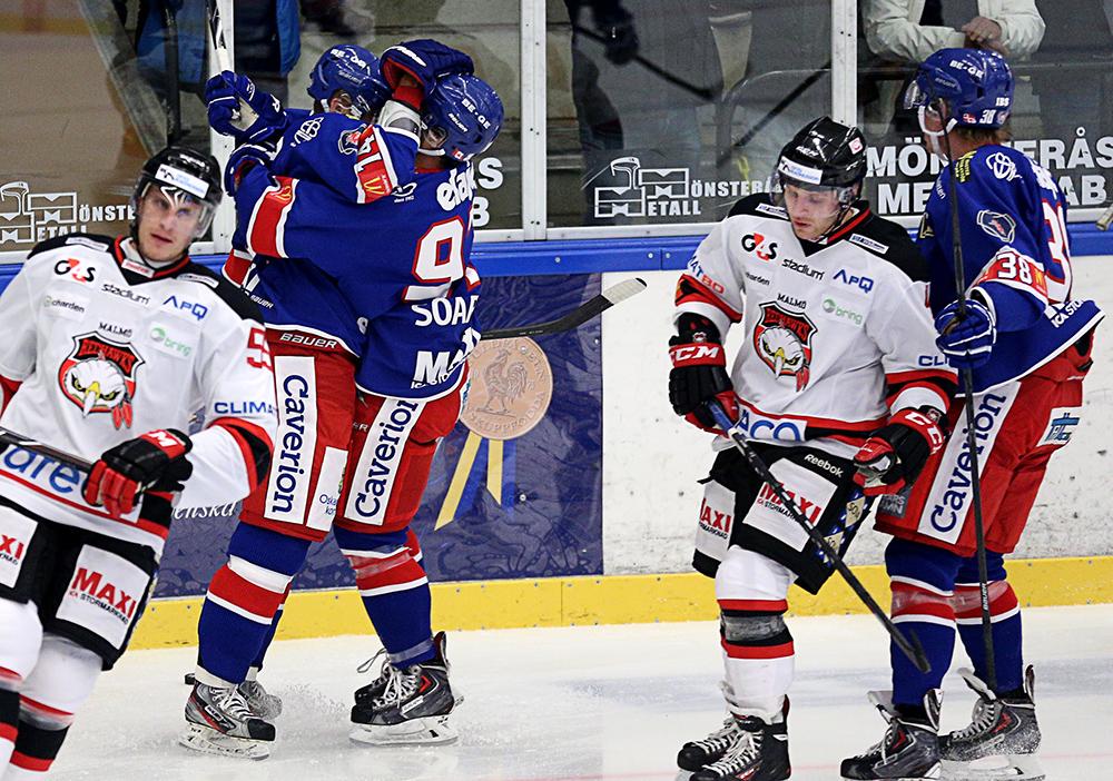 Ishockey, Hockeyallsvenskan, Oskarshamn-Malmö