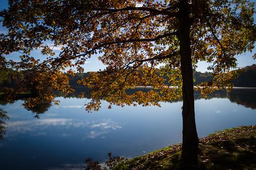 fall nature hudson ohio unitedstates lake landscape rjvtog robvaughnphoto