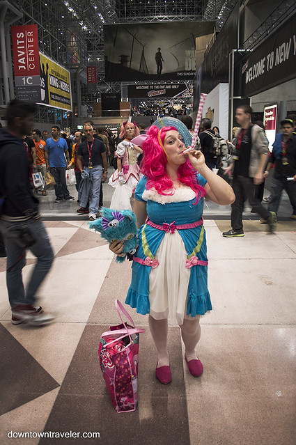 NY Comic Con Womens Costume Pinkie Pie MLP