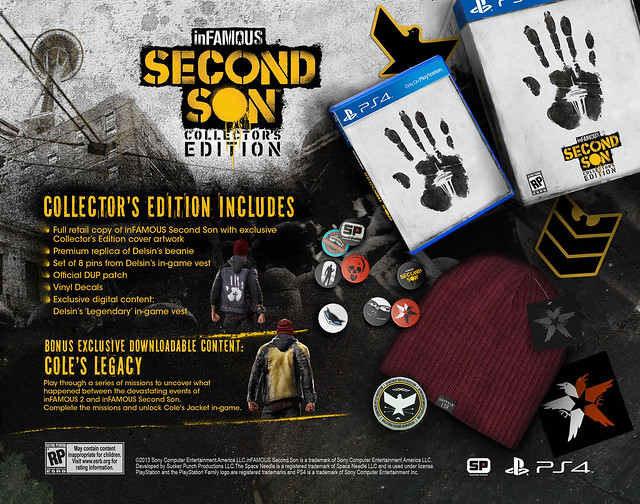 Infamous Second Son Collector's Edition