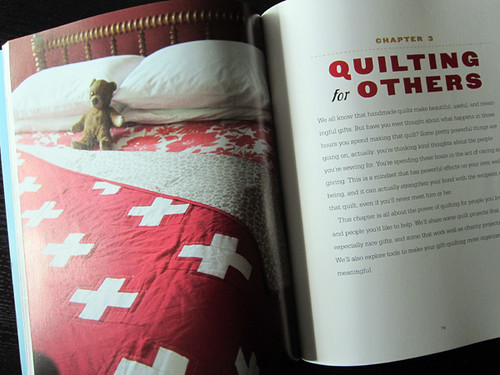 Quilting Happiness:  review & giveaway