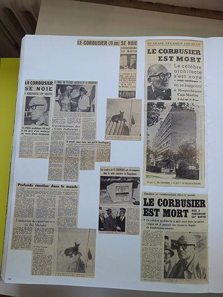 le Corbusier est mort