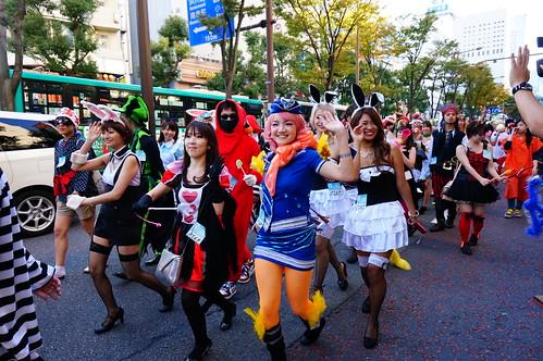 Kawasaki Halloween Parade 2013 113