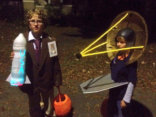 JWST and Dr. Von Braun trick or treating