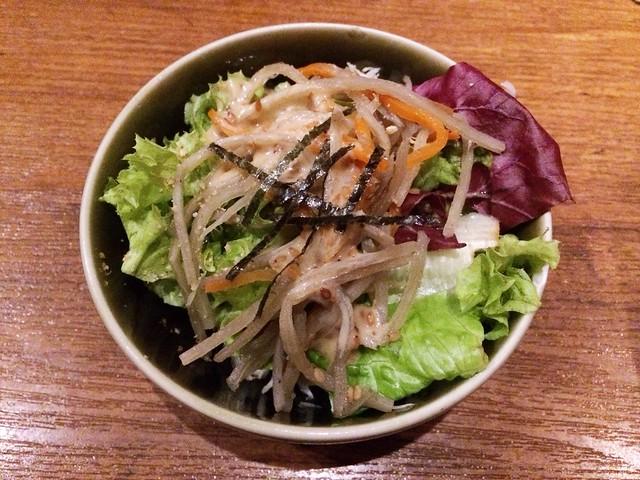 Salad, Omakase @ Teppei