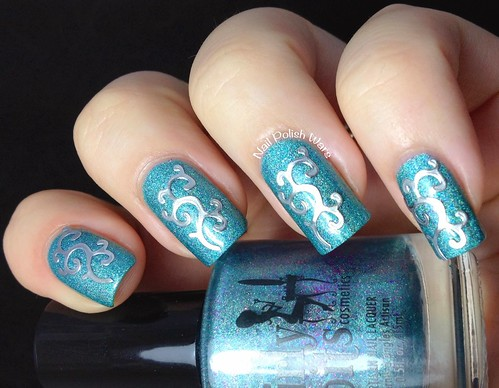 Embossed Nail Decal