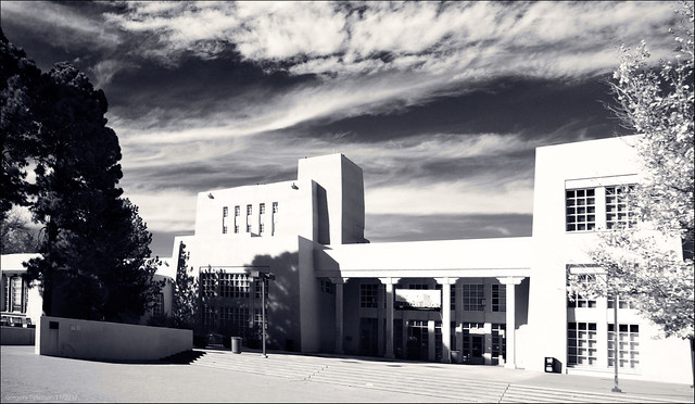 Zimmerman Library, University of New Mexico.
