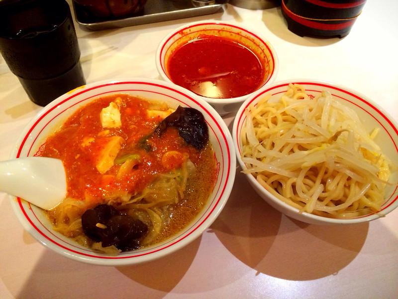 ニコセット(蒙古タンメン・冷やし味噌)