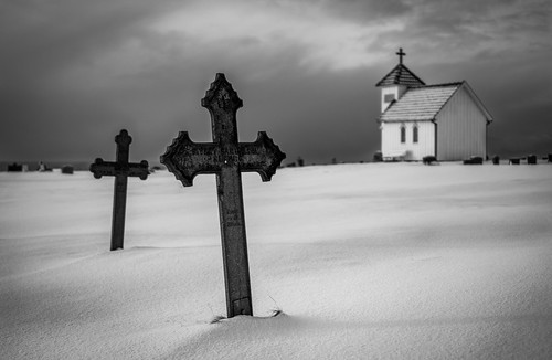 3 Crosses by Richard Larssen