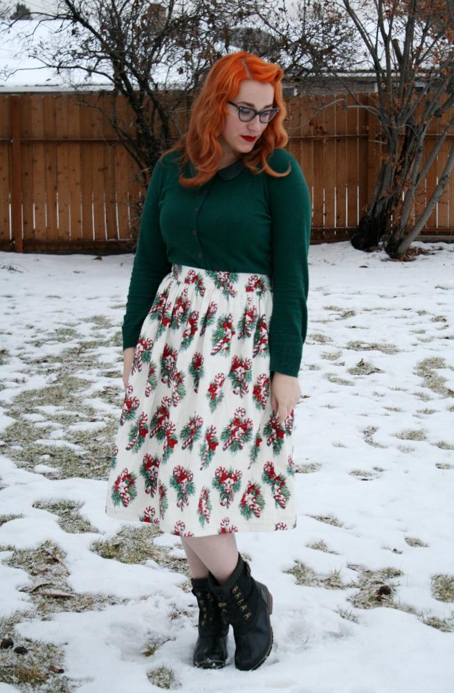 DIY Xmas Skirt