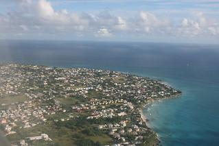 Approaching Barbados