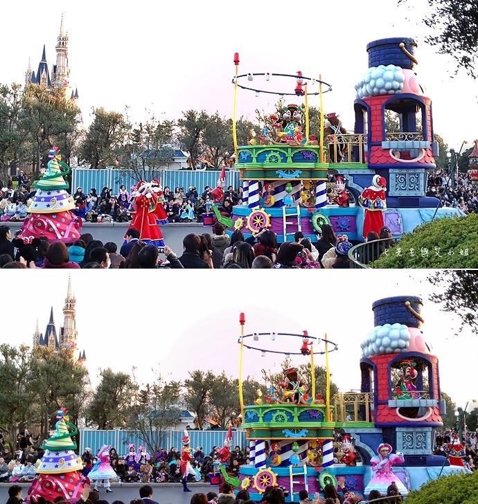 21 迪士尼聖誕村大遊行幸福在這裡夢之光大遊行