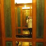 Elevator of mirrors