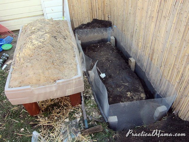 Rodent-proofing the coop