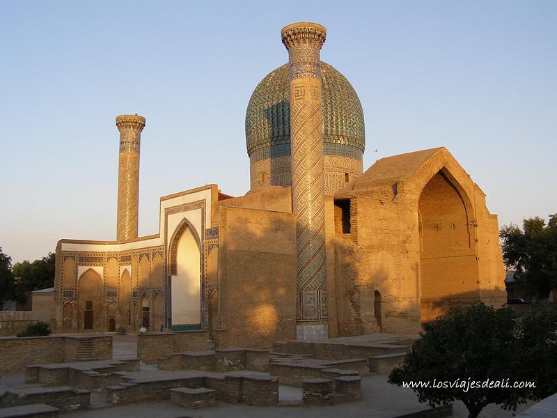 mausoleo de Gur e-Amir