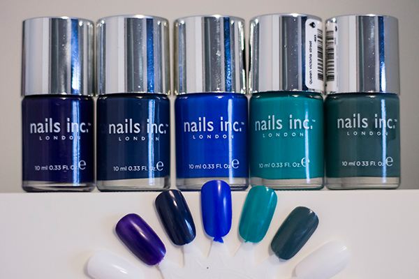 Nails Inc Old Bond Street, Nails Inc The Serpentine, Nails Inc Baker Street, Nails Inc Queen Victoria Street, Nails Inc Green Park