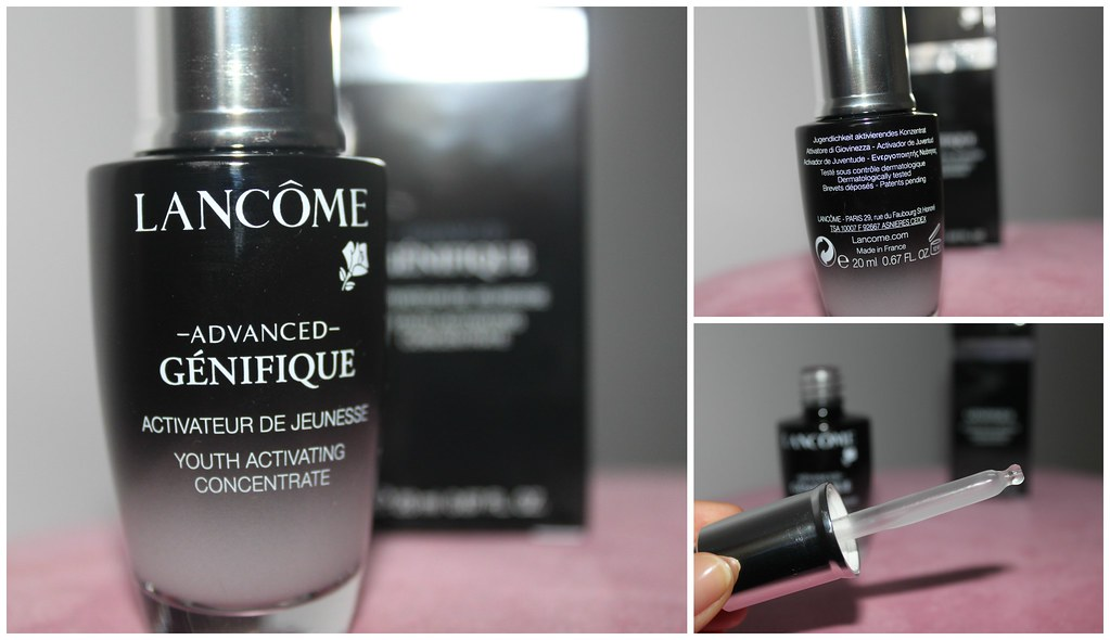 Lancome Advanced Genifique serum anti ageing flawless glowing skin care australian beauty review ausbeautyreview blog blogger honest light myer beautiful moisturzing myer youth activating concentrate favorite works