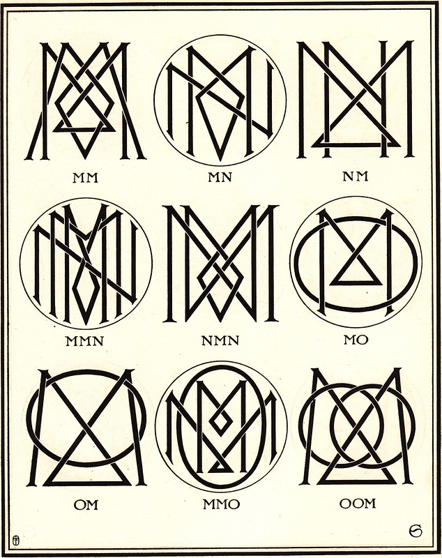 Monograms & Ciphers by AA Turbayne 1912 h