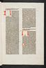 Rubricated initials in Bartholomaeus Anglicus: De proprietatibus rerum