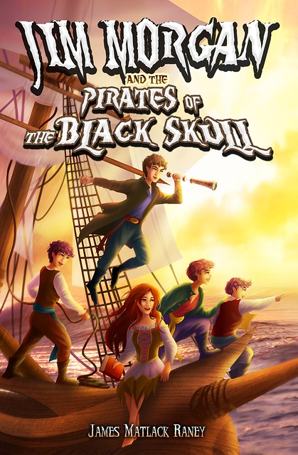 Jim Morgan and the Pirates of the Black Skull cover