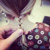 Looks like a big girl braid!