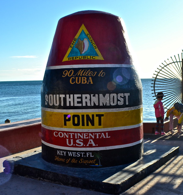 Key West, Florida- Bike Tour - most southernmost point in US