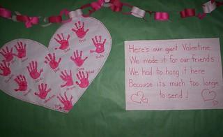 Valentine-bulletin board