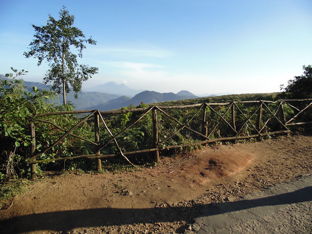 a view of distant hills at Eravikulam National Park, Munnar