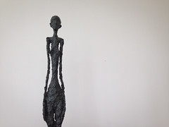 Giacometti Sculpture at the Getty Center - Los Angeles, CA
