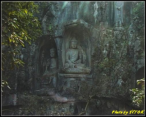 杭州 飛來峰景區 - 008 (飛來峰石雕佛像)