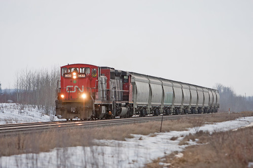 cn ab alberta local freight cnr duffield gmd1