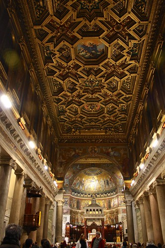 Church of Santa Maria in Trastevere, Rome, Italy