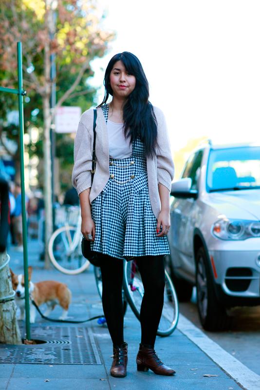 bianca_val street style, San Francisco, women, Valencia Street, Quick Shots, street fashion