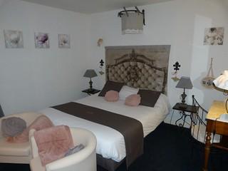 Habitación del Hotel Cote Rivage (Badefols-sur-Dordogne, Périgord)