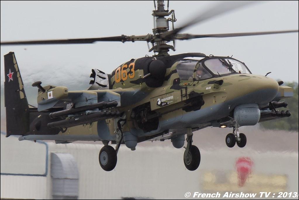 KA-52 Aligator,Salon du Bourget 2013,Paris Airshow 2013