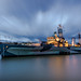 HMS BELFAST TWIGHLIGHT by Sharon- Jayne