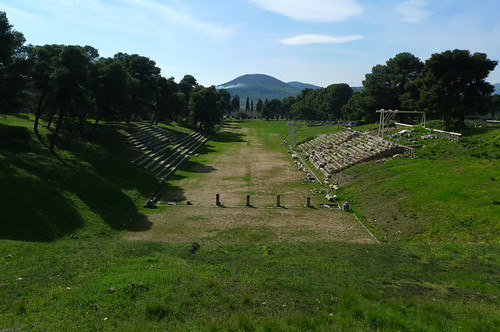 Stadium - Epidavros, Greece