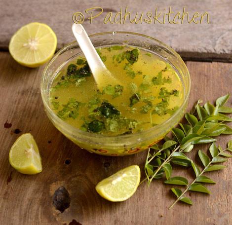 Vazhaithandu Soup-Plantain Stem Soup