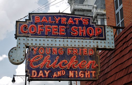 Balyeat's Coffee Shop - on the Lincoln Highway in Van Wert, Ohio