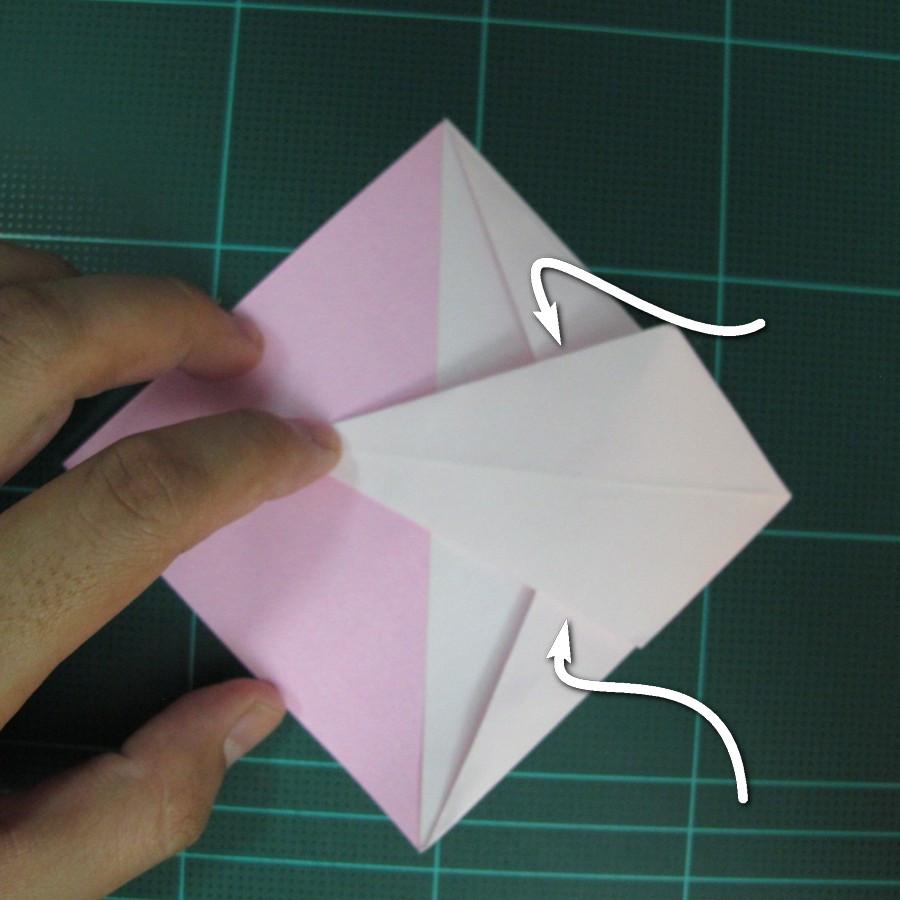 วิธีพับกระดาษเป็นรูปเครื่องบินแบบบินไกล (SST Origami Airplane) 008
